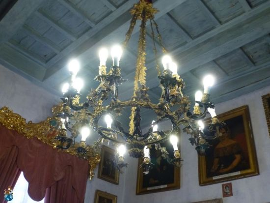 Sala Porfido - Casa Rocca Piccola