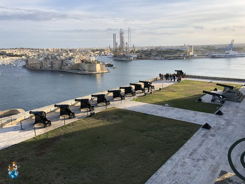 Saluting Battery - La Valeta