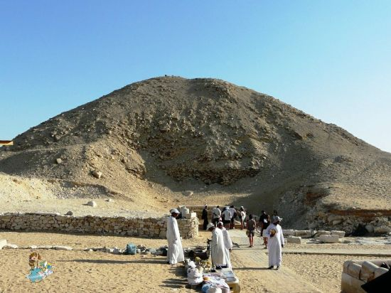 Pirámide de Ti en Saqqara