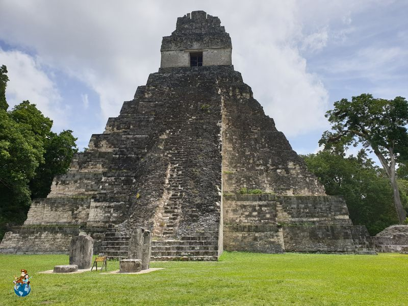 Templo del Gran Jaguar- Tikal