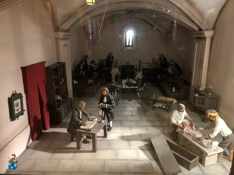 Santa enfermería de la Orden de San Juan - La Valeta