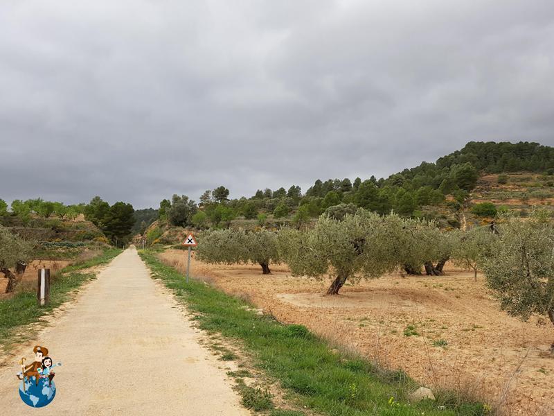 Vía verde de Horta de Sant Joan a Benifallet