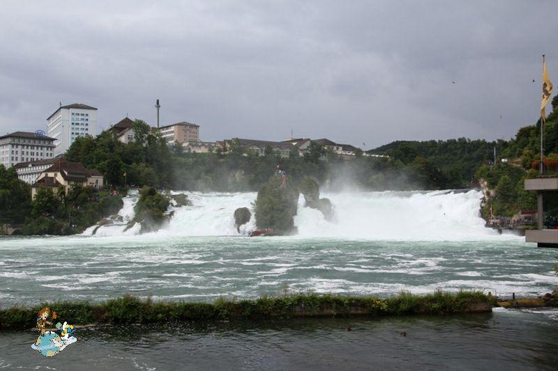 Vistas Cataratas del Rin