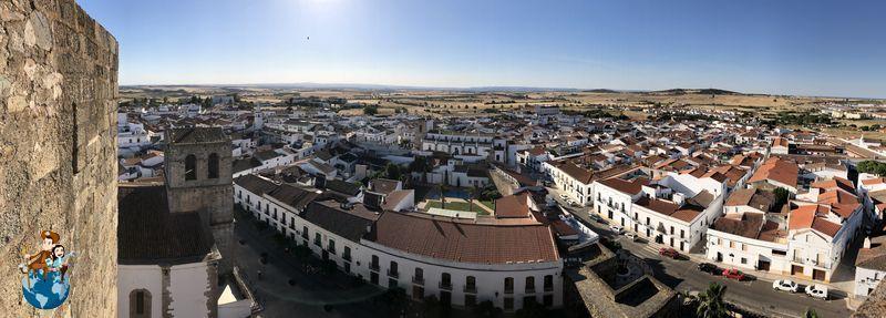 Vistas desde la Torre del Homenaje - Olivenza