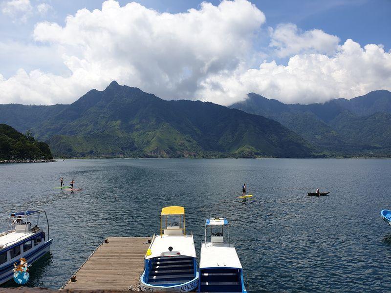 Vistas del Lago Atilán desde San Pedro La Laguna