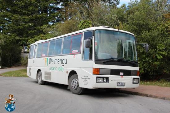 Shuttle gratuito por el Valle volcánico Waimangu