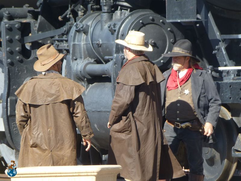 Histórico tren de vapor destino Gran Cañón de Colorado