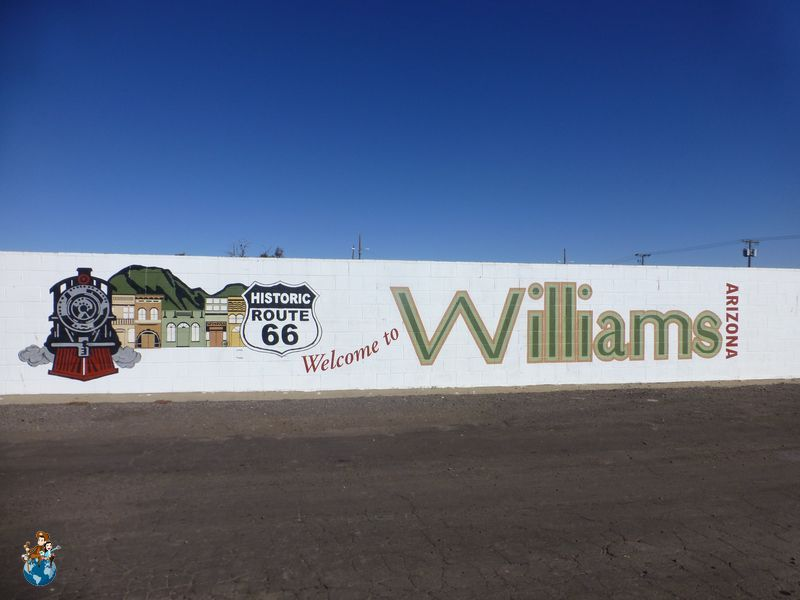 Ruta 66 a su paso por Williams