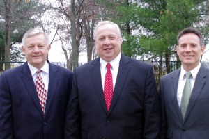 1st counselor Scott Holman, me, and 2nd counselor Tony Myers