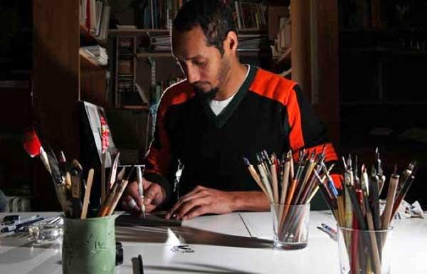Paul Antonio calligraphy