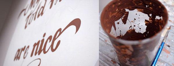 Olga Gaze calligraphy
