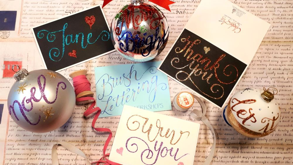 Bauble and Card workshop