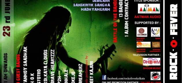 ROCK-O-FEVER 2013 Kolkata Band Competition_poster