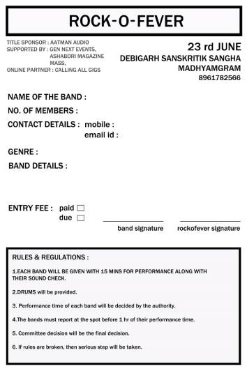 ROCK-O-FEVER registration form(off line)
