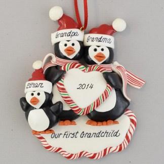 First Grandchild Personalized Ornament