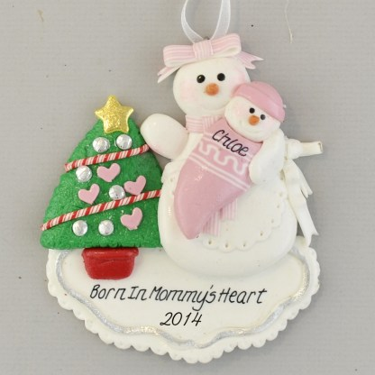 Adopted Daughter Personlized christmas Ornaments