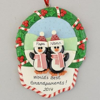 Best Grandparents Personalized Ornament