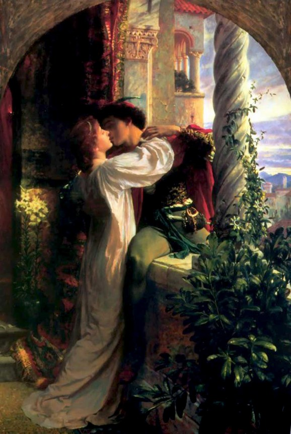 Romeo and Juliet by Frank Dicksee (1884)