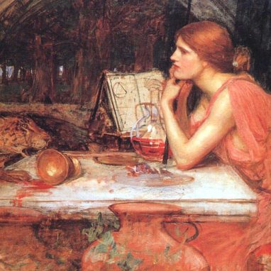 The Sorceress (1913), by John William Waterhouse Jr