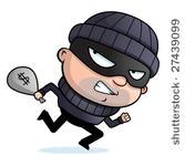 voleur masqué de droits d'auteur