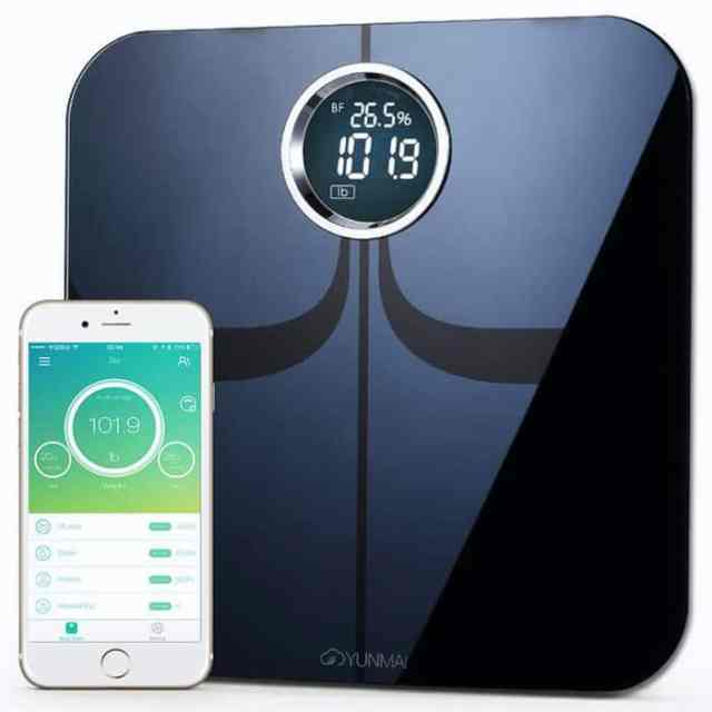 First close looking view of the Best Body Fat Scale