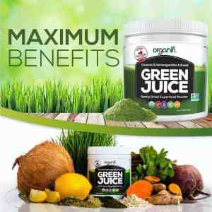 The natural ingredients shows the purity of the Best Greens Supplement