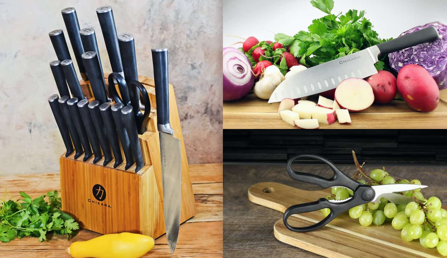 Best Kitchen Knife Set as the second related product of the Best Chef Knife