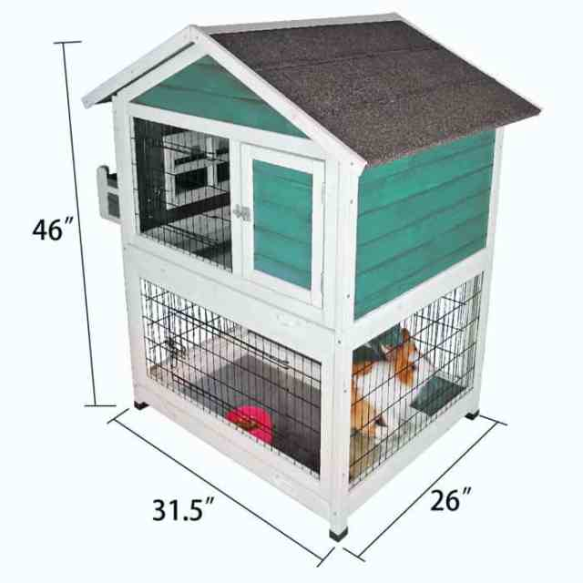 First close looking view of the Best Rabbit Cage