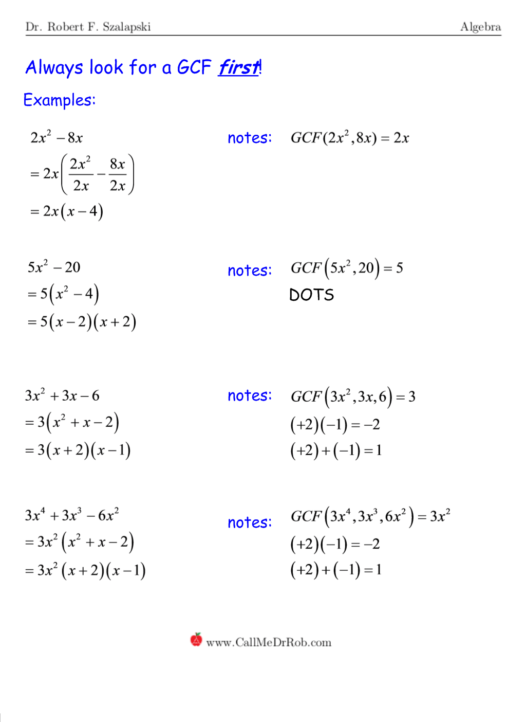 Factoring Polynomials Completely Worksheet Free Worksheets