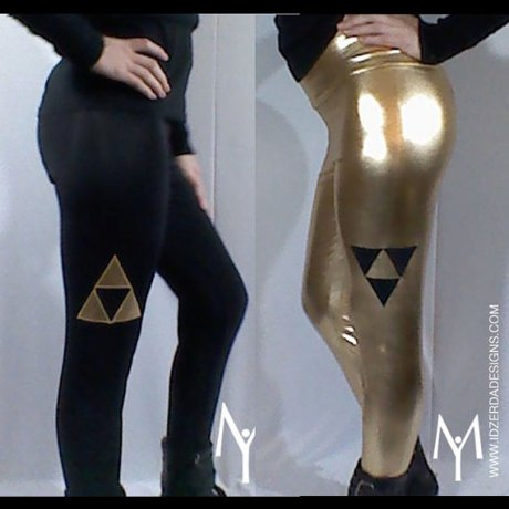Leggings Zelda noir