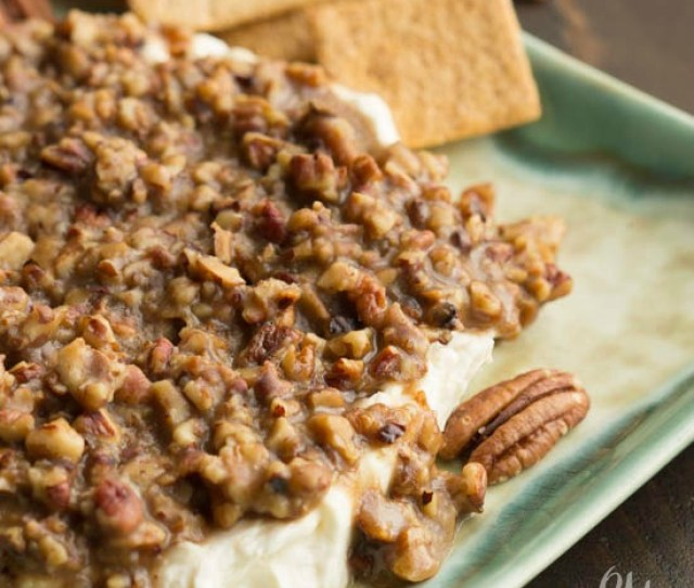 French Quarter Pecan Cheese Spread Recipe Is A Little Savory A Little Sweet