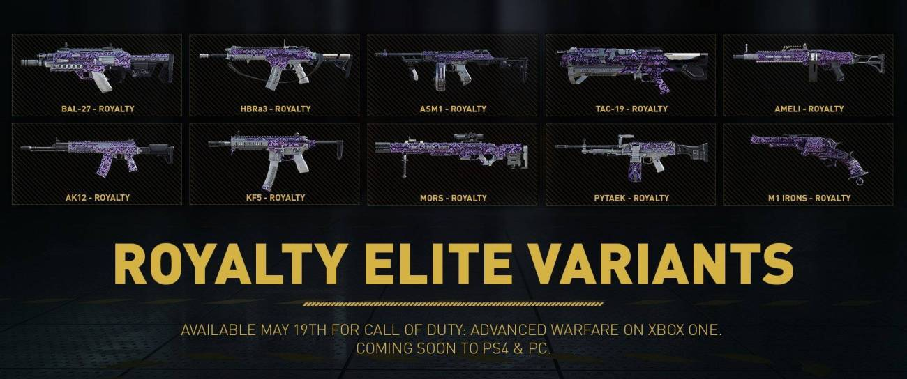 elite weapons aw