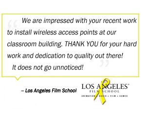 Los Angeles Film School Testimonial