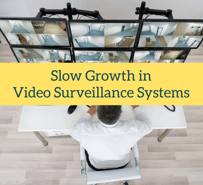 Slow Growth in Video Surveillance Systems