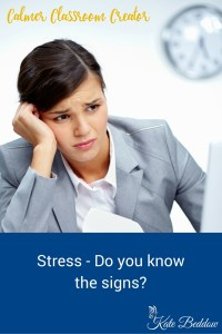 Stress - do you know the signs?