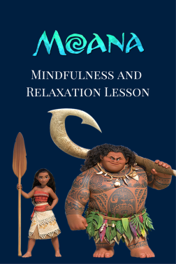 FREE Moana Mindfulness lesson plan
