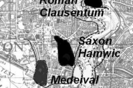 Southampton Map Full HD MAPS Locations Another World - Old maps for sale online