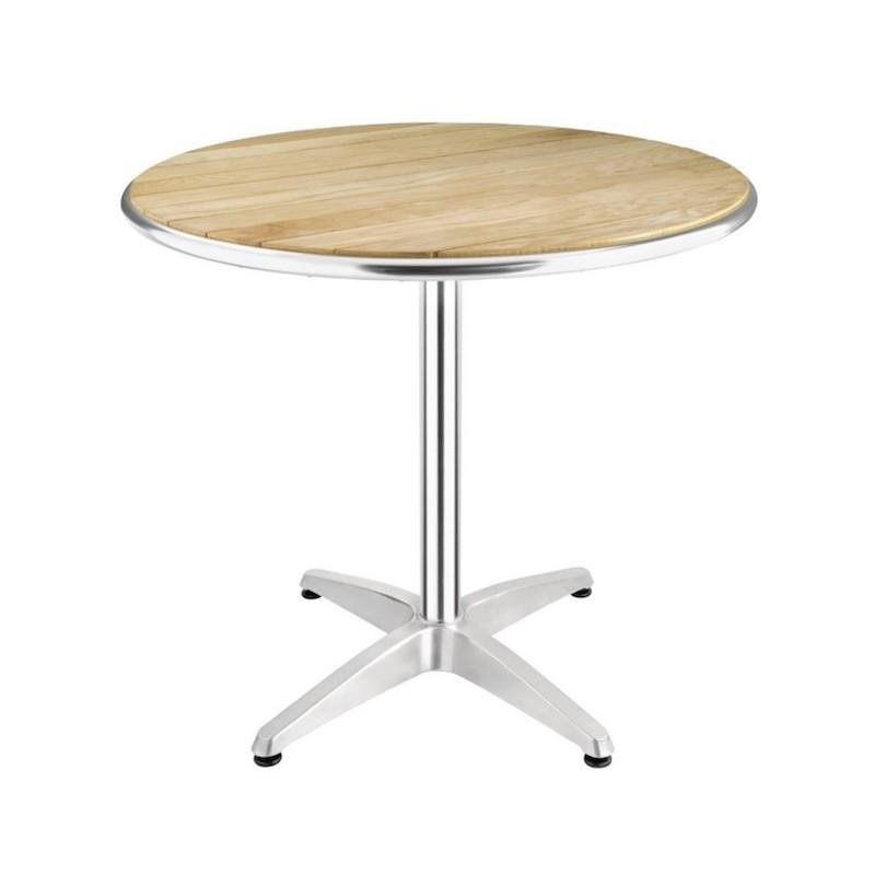 table ronde pour restaurant diametre 80 cm bolero