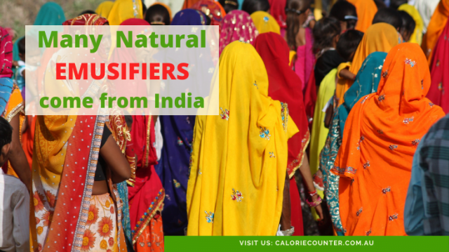India has natural emulsifiers