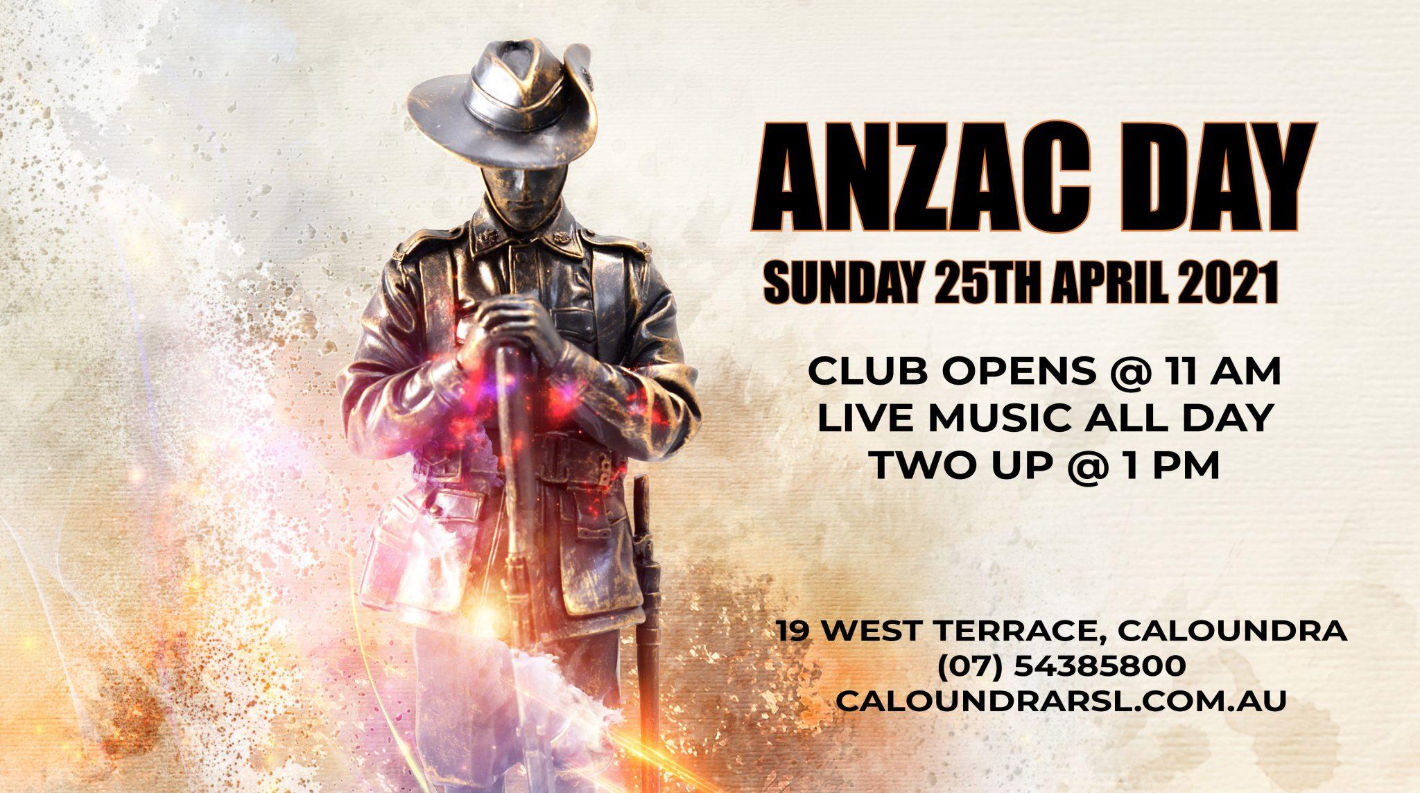 Anzac Day Caloundra