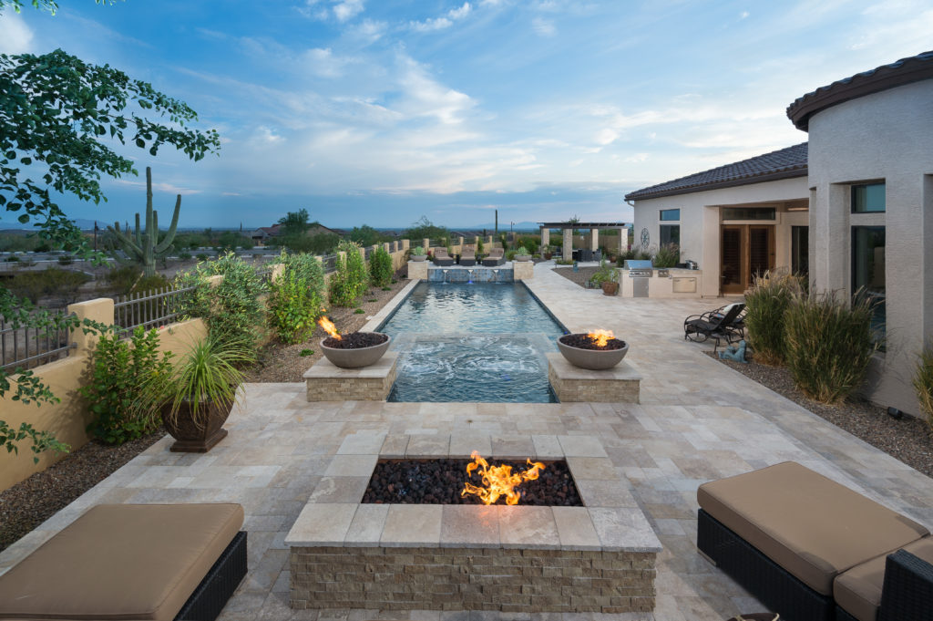 Backyard Hardscape Designs: Fire Pit vs Fireplace on Fireplace In Yard id=98439