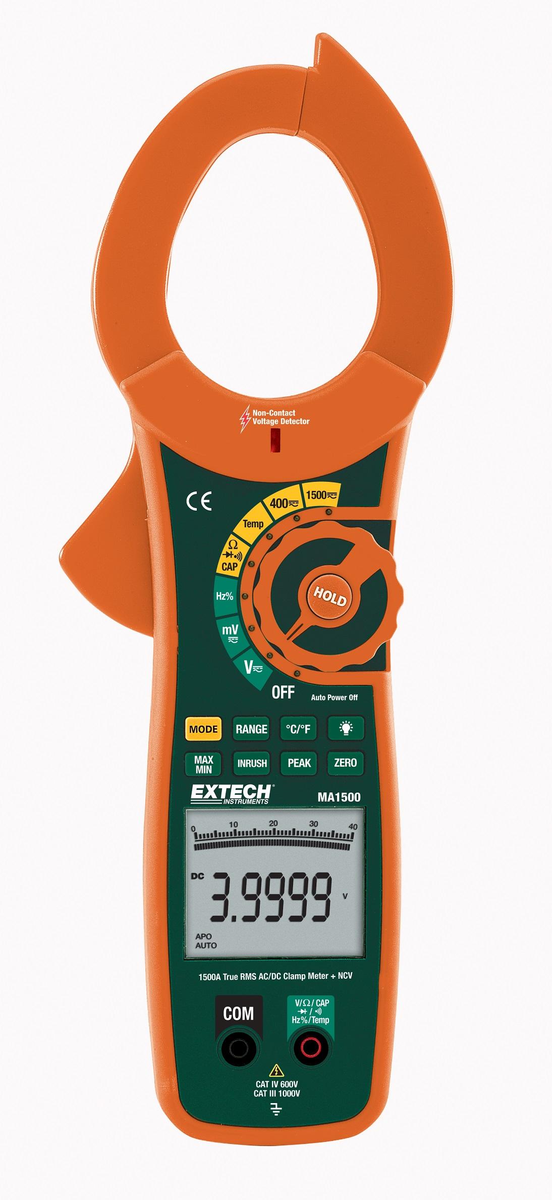 Hioki 3288 20 Digital Ac Dc Clamp On Meter 1000a Hitester 3280 True Rms Extech Ma1500 Ncv 1500a 750vac 1000vdc