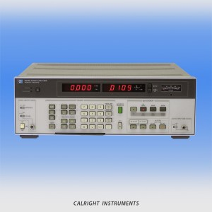 Audio / Distortion Analyzers