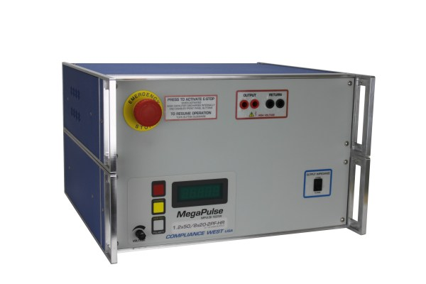 Compliance West 1.2x50/8x20-2PF-HR 2/12 Ohm Combination Tester