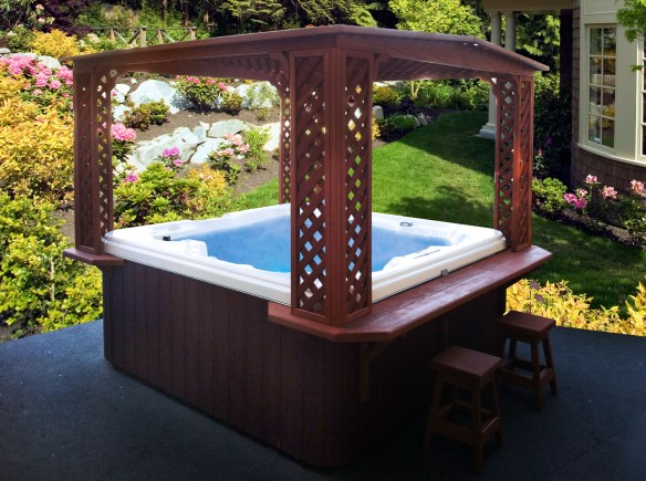 Cal spas blog tag cal designs cal spas for Cal spa gazebo