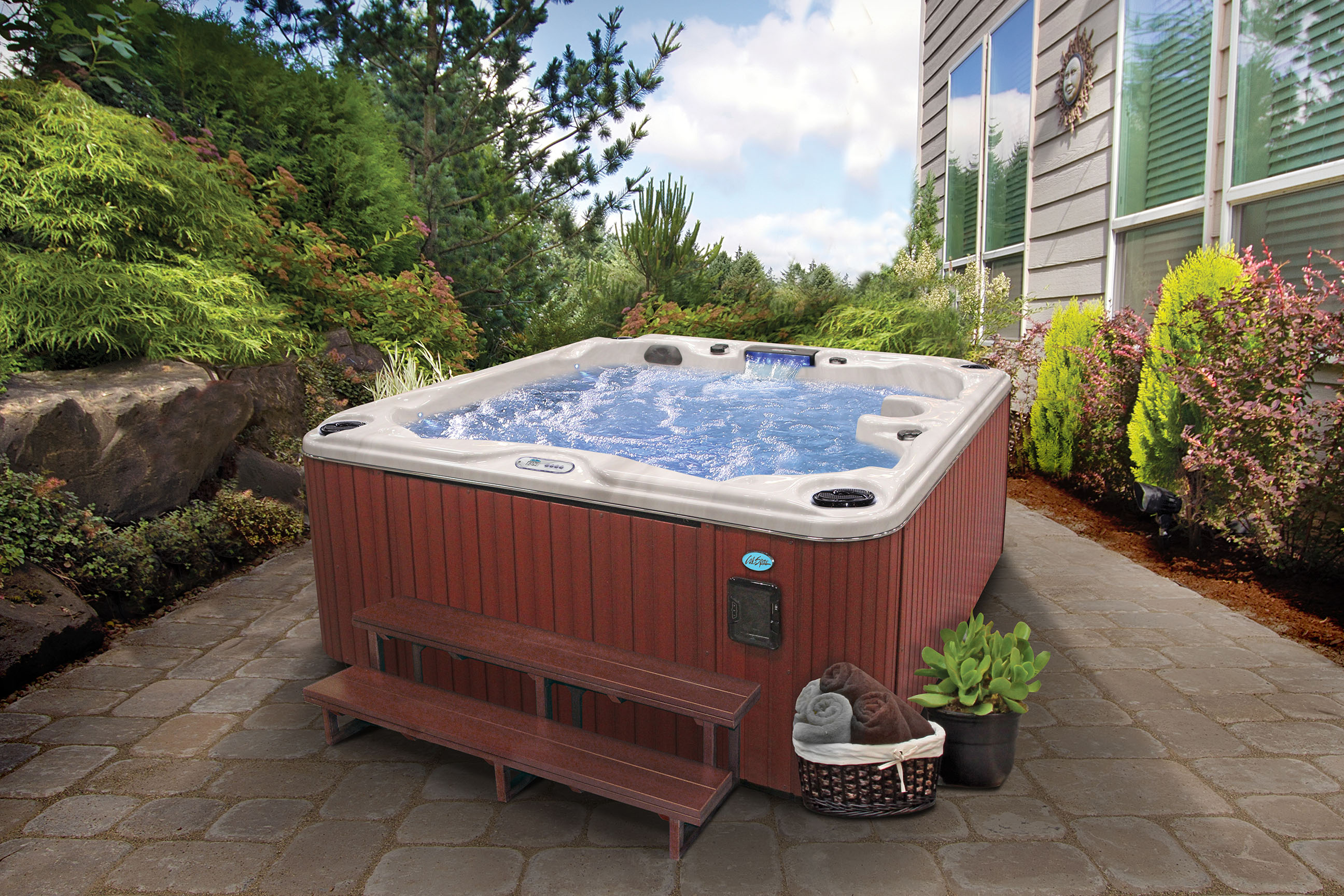 Hot Tubs For Sale At Calspascom Cal Spas Image May