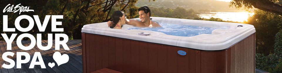 Fall in love with Cal Spas Hydrotherapy