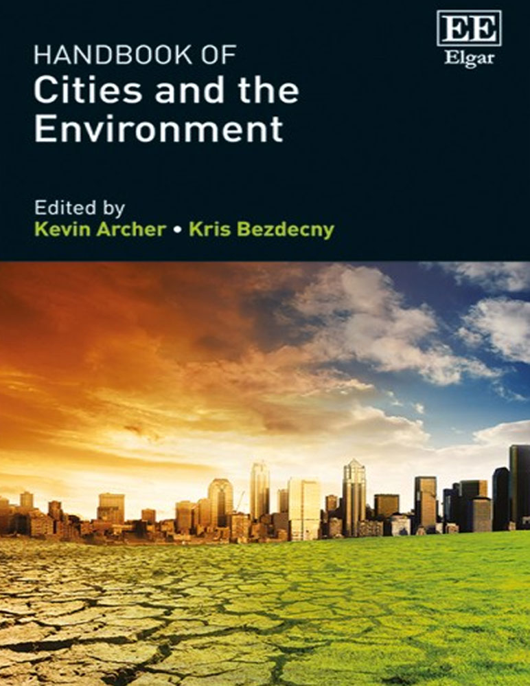 """Book cover for """"Handbook of Cities and the Environment"""""""