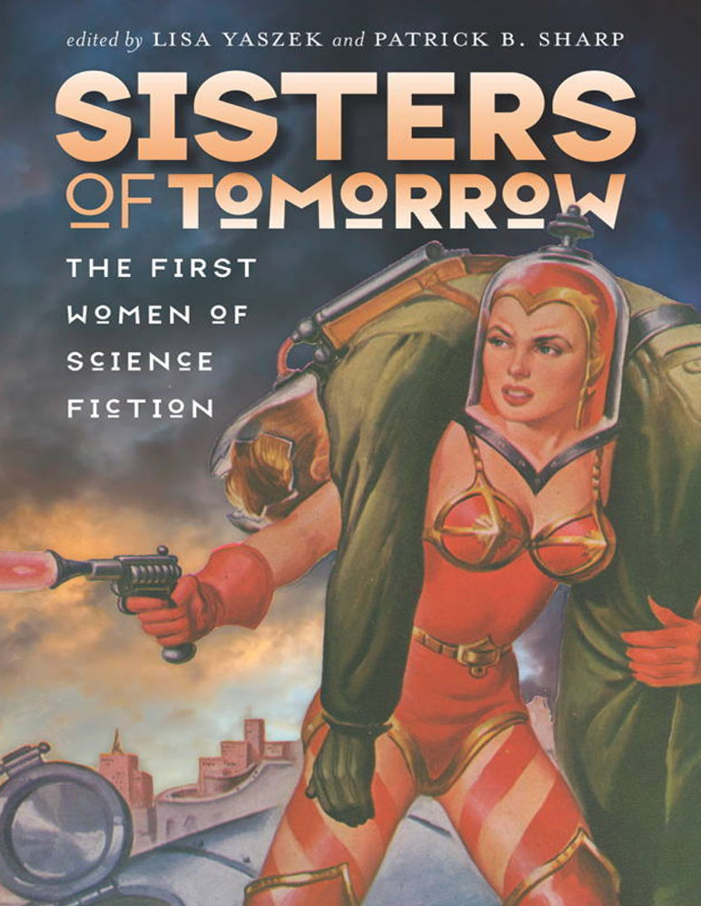 "Book cover for ""Sisters of Tomorrow"""