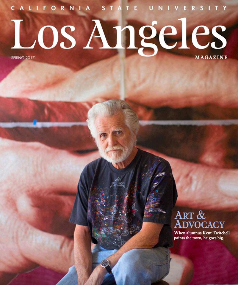 Cal State LA Magazine Spring 2017 magazine cover